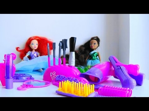 Winx Doll Hair Tutorial!