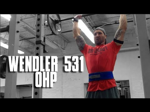 Beyond Wendler 531 C1W2 OHP and great triceps exercise