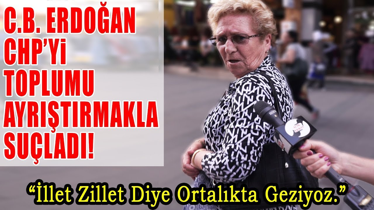 Erdoğan, CHP'yi Toplumu Ayrıştırmakla Suçladı! Peki, Toplum Ne Diyor?