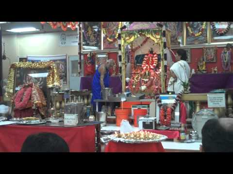 Ekalavya chanting Oct 2011 sanatana dharma kendra part 4
