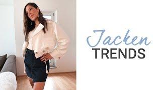 Top 5 Trends Jacken Frühling Sommer 2019 | Lohnen sich die neuen Übergangsjacken? | natashagibson