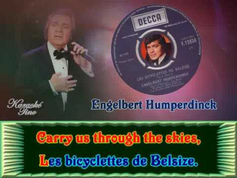 Karaoke Tino - Engelbert Humperdinck - Les Bicyclettes de Be