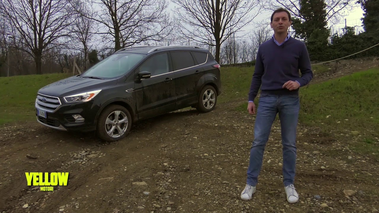 Ford Kuga Off Road Test Drive Youtube