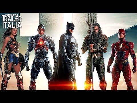 La Justice League riunita nel nuovo trailer italiano