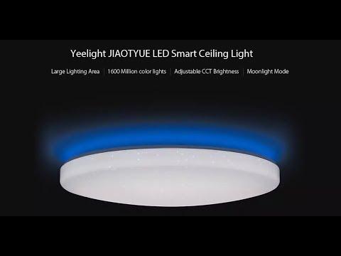 Xiaomi yeelight jiaoyue 650 surrounding ambient lighting led ceiling light
