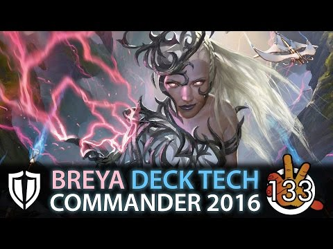 Breya, Etherium Shaper - Invent Superiority C16 Deck Tech | The Command Zone #133