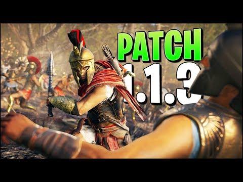 SO sollte Patch 1.1.4 sein - das hätte Patch 1.1.3 in Assassin's Creed Odyssey werden können thumbnail