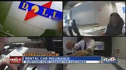 dollar thrifty hertz car rental insurance scam