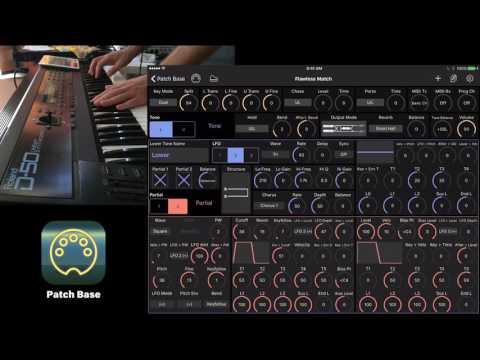 Roland D-50 Sound Design with Patch Base