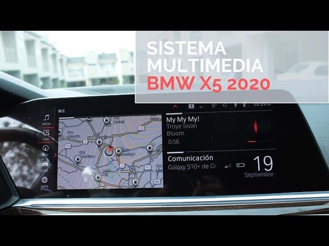Sistema multimedia BMW X5 2020  / Artesanos Car Club
