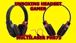 Headset Gamer PH073 audio