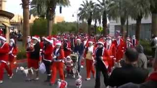 Santa Run Las Vegas 2011