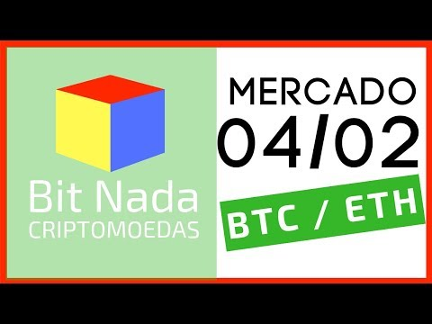 Mercado de Cripto! 04/02 Bitcoin / Ethereum / Doação Grin / Avise seus familiares!