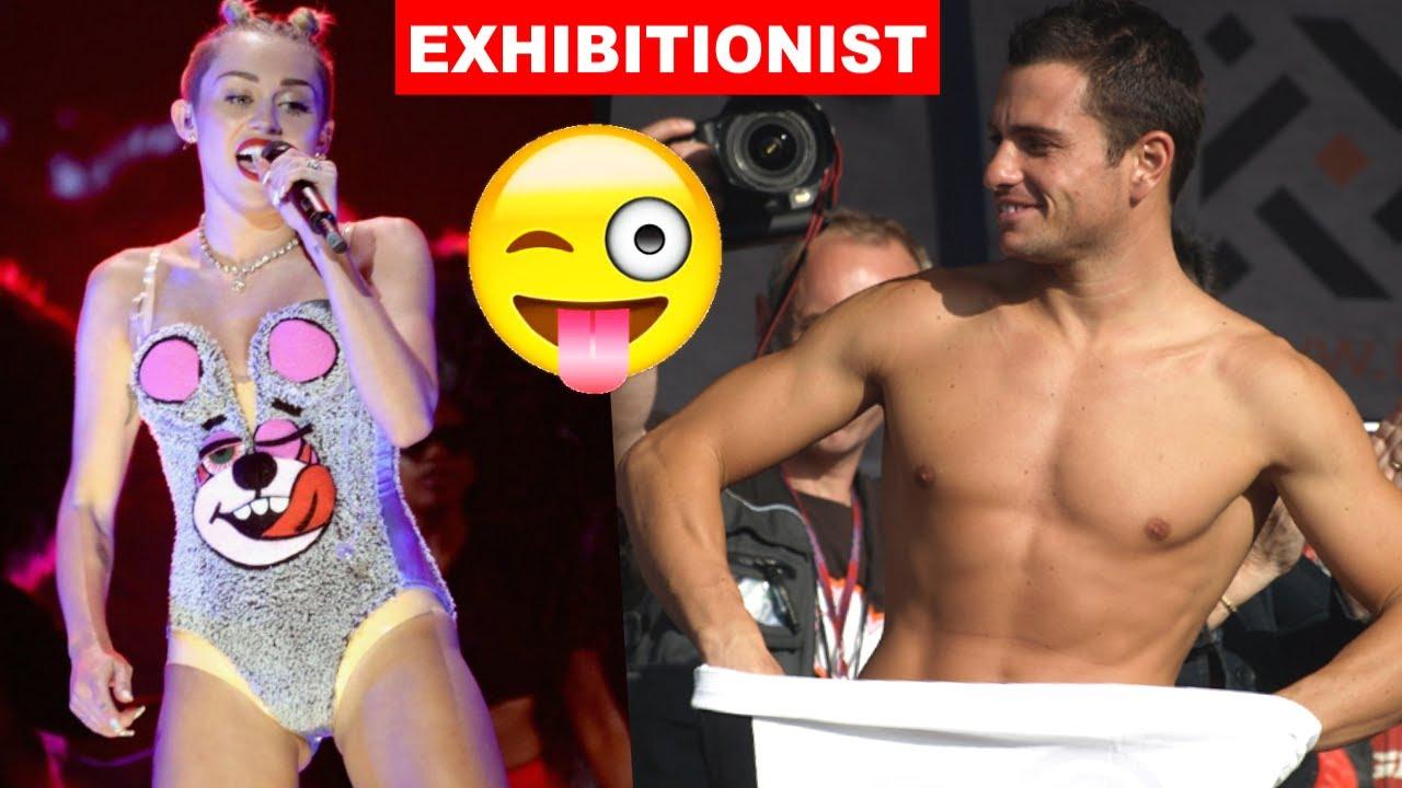 Exhibitionist people