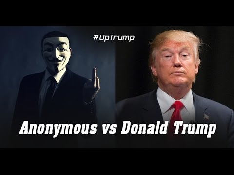 Anonymous collective declares 'total war' on Donald Trump, again #OpTrump 2016