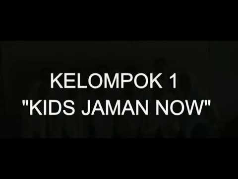 "TUGAS BAHASA INDONESIA BERBALAS PANTUN "" KIDS ZAMAN NOW """
