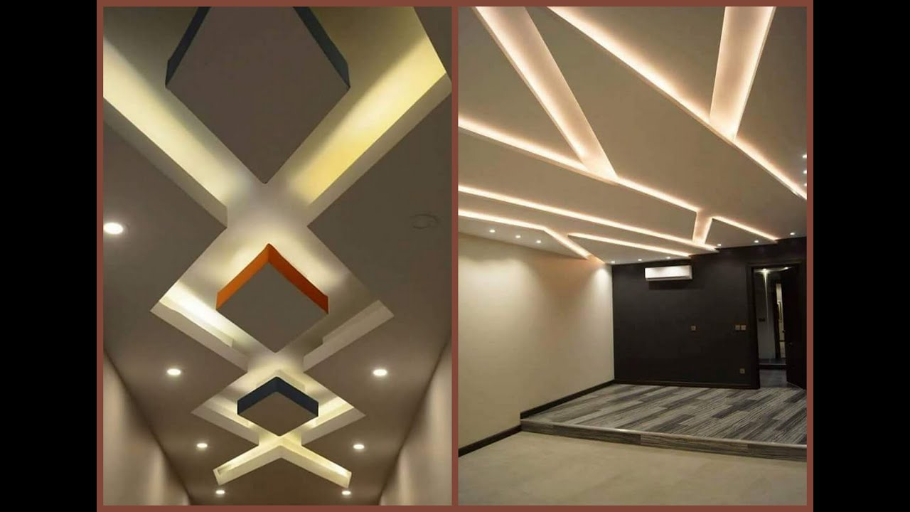 Latest False Ceiling Design Ideas (POP & Gypsum) for Bedroom and Hall- Plan  n Design - YouTube