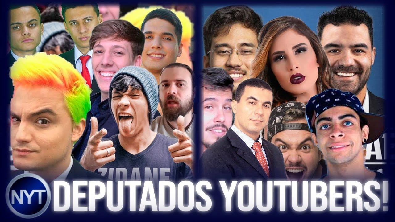 YouTubers se CANDIDATARAM aos cargos de DEPUTADO federal e estadual para as ELEIÇÕES 2018!