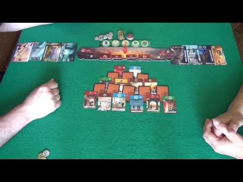 7 Wonders: Duel - играем в настольную игру