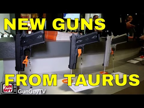 Great New Products from Taurus - 2018 SHOT Show