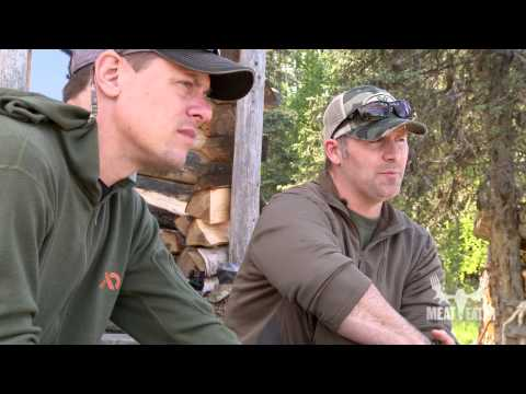 Steven Rinella And Navy SEAL Rorke Denver Sight In Their Rifles On MeatEater