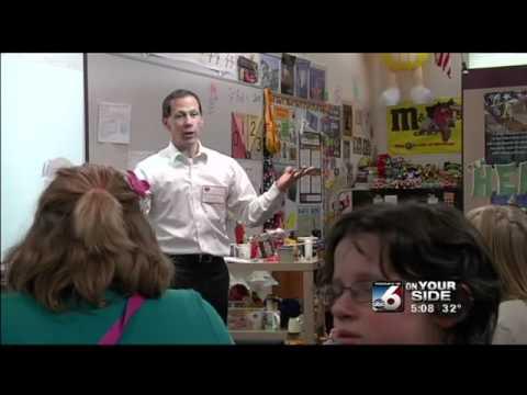 My visit to Cynthia Mann Elementary School in Boise 2/4/13