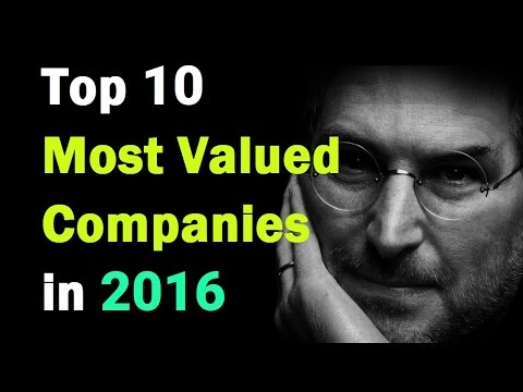 Top 10 Most Valuable Company in the word