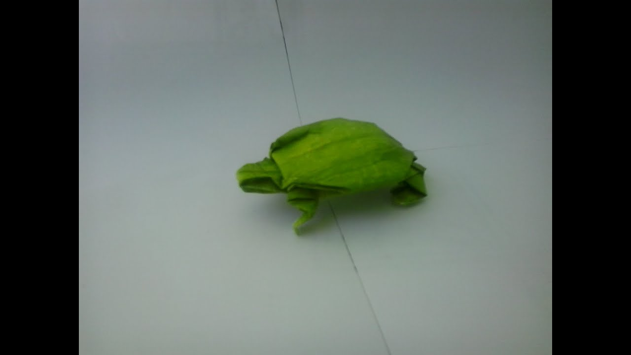 How to make origami turtle BY (Robert J. Lang) - YouTube - photo#7