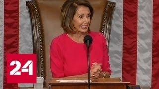 Палату представителей Конгресса США возглавила Нэнси Пелоси - Россия 24