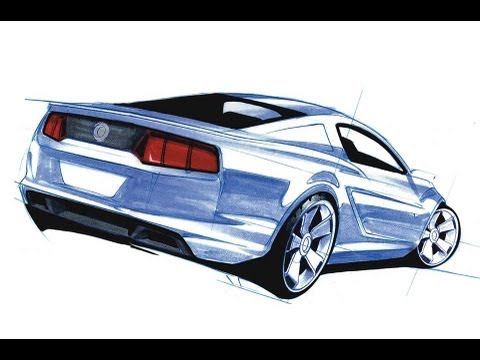 How to Draw Cars Techniques - YouTube