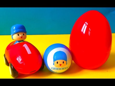 Pocoyo and Surprise Egg
