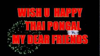 TAMIL NEW SONG THAI PONGA