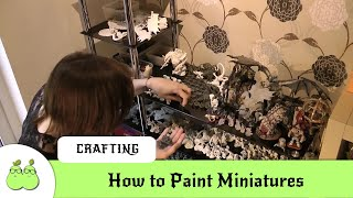 How to Paint Miniatures for Roleplaying and Wargaming