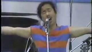 1985年ピクニックコンサート ロックと和太鼓のコラボです。