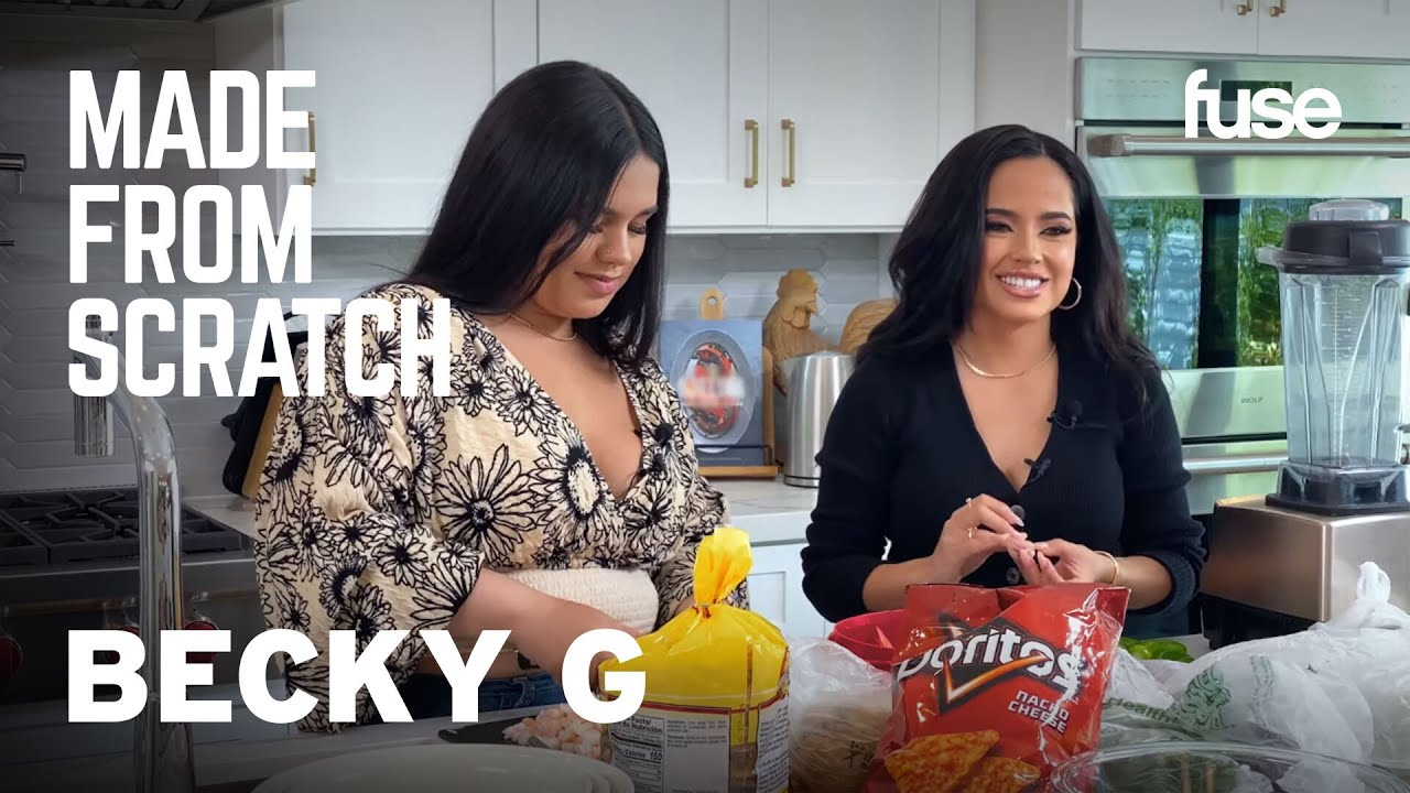 Becky G & Her Younger Sister Cook & Open Up About Their Upbringing | Made from Scratch
