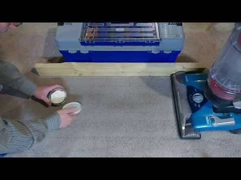 Carpet Edge Cleaning Using A Hoover Windtunnel Max