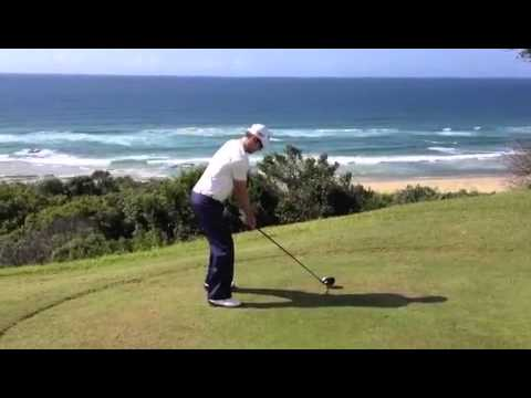 Nick Dougherty and Ryan Cairns-Golf Drives