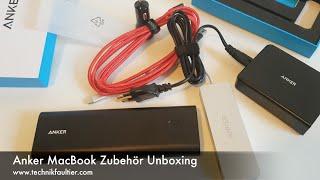 Anker MacBook Zubehör Unboxing
