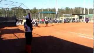 Softball Double Play 1-2-5, Force Top 2nd