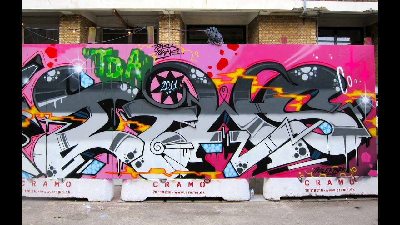 Graffiti Letter T - Tags, Throw-ups and Murals - Tutorial Video