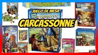 CARCASSONNE AMAZON / Juegos de Mesa Amazon / Comprar carcassonne