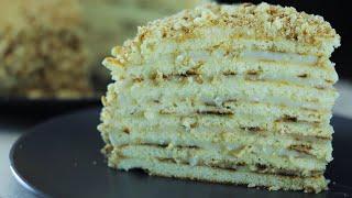 Торт на сковороде Духовка не нужна Вкусный простой бюджетный домашний торт
