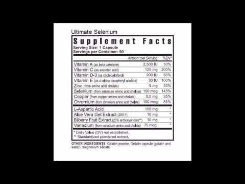 Selenium Wellness Suplement