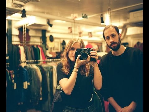 Gold Panda & Laura Lewis in Little India, Singapore