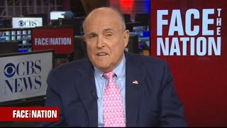 "Giuliani says Trump ""doesn"