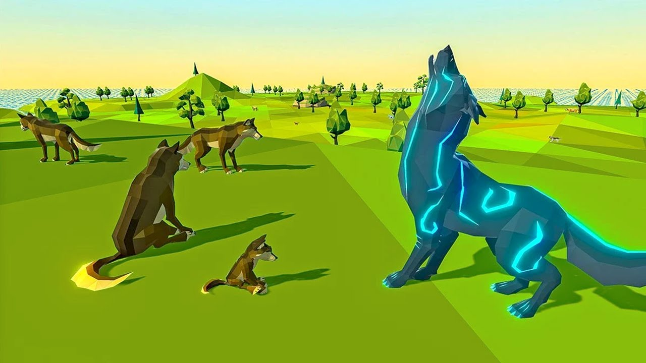 Wolf Simulator Fantasy Jungle (by Kooky Games) Android Gameplay [HD]