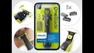 Триммер PHILIPS OneBlade QP2520/20 - Бритва для Лентяев!))) Обзор