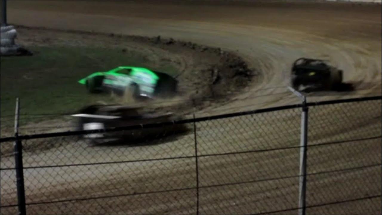 Bubba Raceway Park >> Racing - BLUE TARP SPECIAL -Modifieds At Bubba Raceway Park 9-14-13 - YouTube