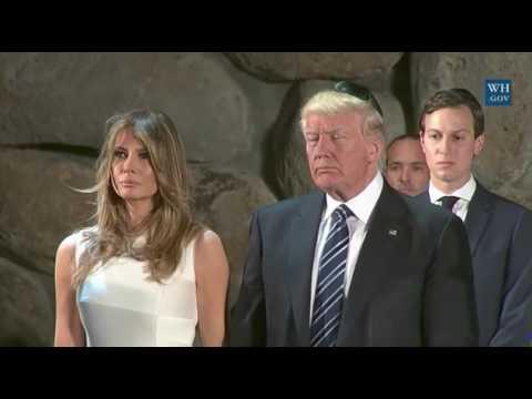 President Trump at Yad Vashem