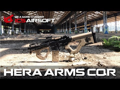 HERA ARMS CQR│ When Your Game Is All Depending On It │ICS Airsoft